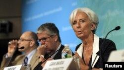 国际货币基金组织总裁拉加德论述美国经济