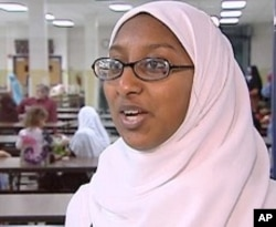 Girl Scout Jasmin Ullah is a youth group leader for the All Dulles Area Muslim Society
