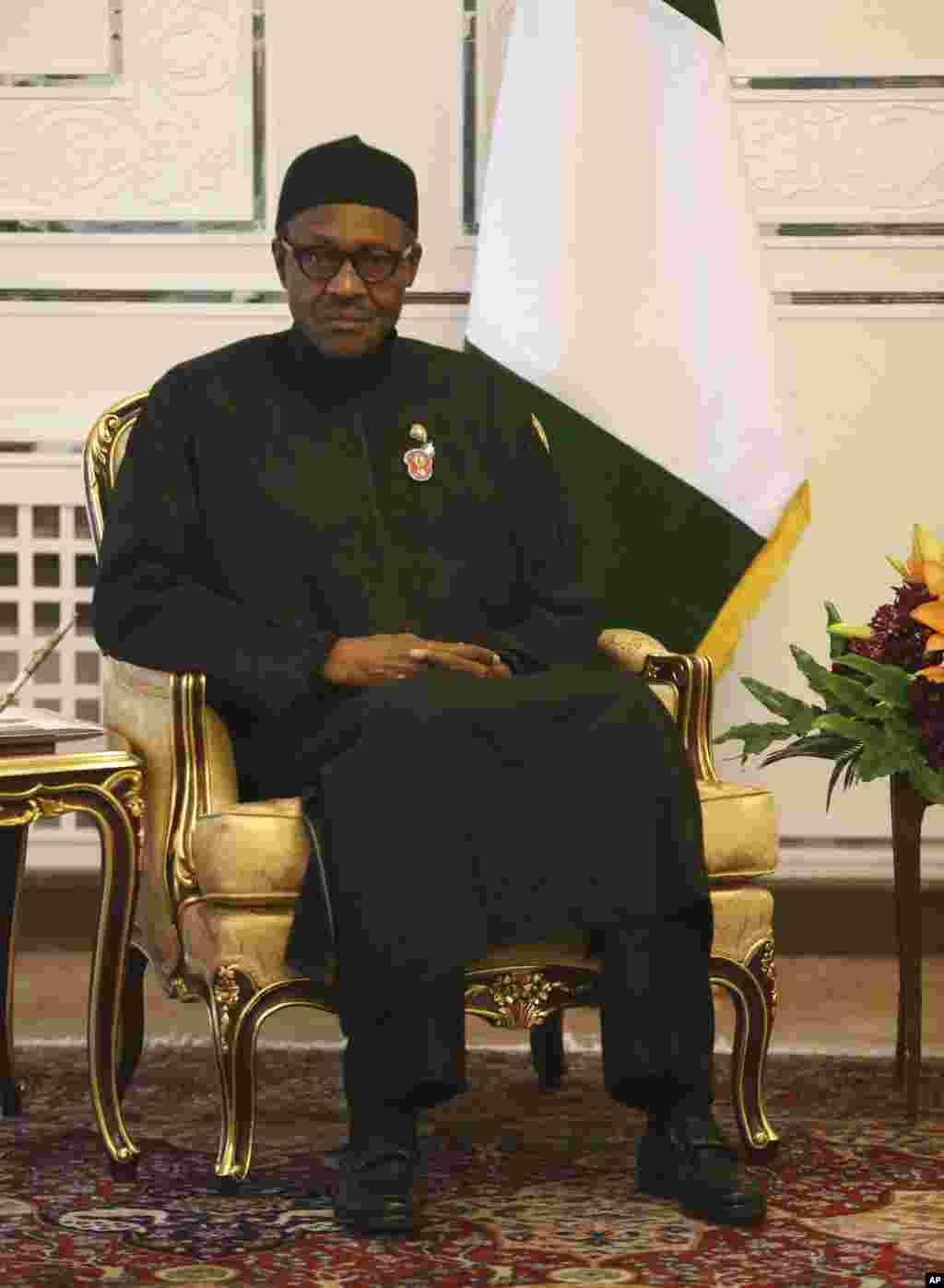 Shugaba Muhammadu Buhari na Najeriya