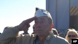 Επιμνημόσυνες τελετές για την 70η επέτειο της Ιαπωνικής επίθεσης στο Περλ Χάρμπορ