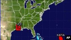 Μετά την τροπική καταιγίδα Λή έρχεται ο τυφώνας Κάτια