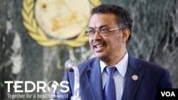 Dr. Tedros Adhanom