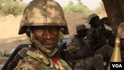Soldat nigerien à Diffa