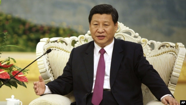 Chinese Vice President Xi  (file photo)
