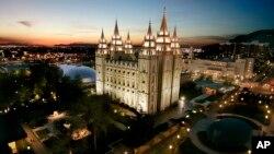 Мормонский храм в Солт-Лейк-Сити, США