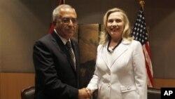 Хиллари Клинтон и Салам Файед