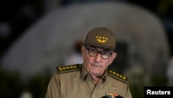 ARHIVA - Prvi sekretar Komunističke partije Kine Raul Kastro u govoru 1. januara 2019, tokom proslave 60 godina kubanske revolucije.