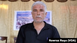 Hevserokê Yekîtîya Parêzerên Efrînê Cibrayîl Mustefa