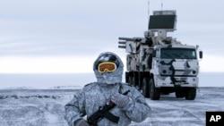 俄羅斯在北極的基地