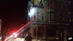 北加州發生6級地震,納帕縣有建築物損毀。