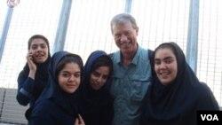 جیم ریدل، کارشناس برجسته کشاورزی آمریکایی در ایران