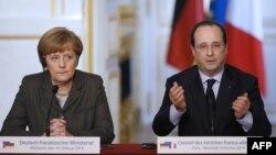Agar Rossiya qo'shni davlatda saylov o'tkazilishiga to'sqinlik qilsa, jazolanadi, deydi Fransiya prezidenti Fransua Olland va Germaniya kansleri Angela Merkel.