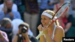 Sabine Lisicki es la primera alemana finalista en Wimbledon desde Steffi Graf en 1999.