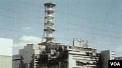 Razoreni reaktor 4 u nuklearnoj elektrani u Chernobilu