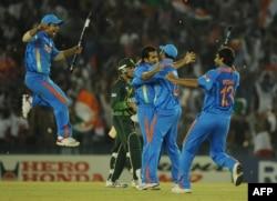 بھارت نے پاکستان کو سیمی فائنل میں شکست دے کر ورلڈکپ 2011 کے فائنل میں جگہ بنائی تھی۔