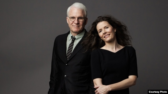Steve Martin and Edie Brickell (Photo by Mark Seliger)