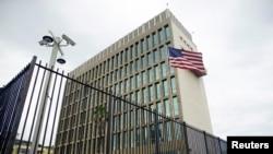 Kedutaan Besar Amerika Serikat di Havana, Kuba pada tanggal 19 Juni, 2017.