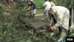 La destrucción vuelve a hacerse presente en Japón, seis meses después del terremoto y tsunami que destruyera el noeste del país.