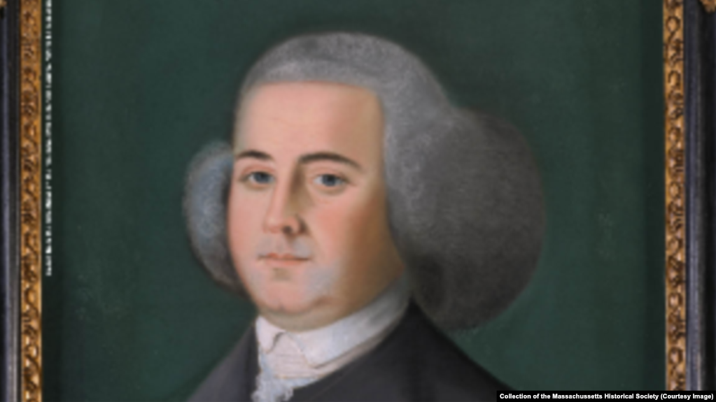 John Adams, by Benjamin Blyth, circa 1766, Collection of the Massachusetts Historical Society