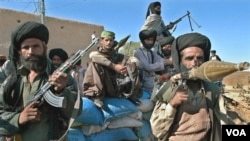 Para anggota pasukan Laskar pembebasan Baluchistan (foto: dok.).