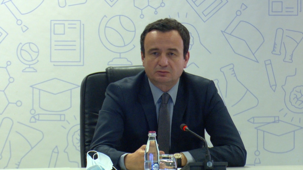 Kurti: Nuk ka datë të caktuar për takimin e radhës me presidentin serb
