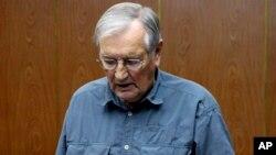 Turis AS, Merrill Newman, 85 tahun dibebaskan oleh Korea Utara setelah ditahan selama sebulan lebih dan mengakui melakukan kejahatan perang semasa Perang Korea (foto: dok).