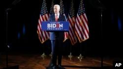 民主黨總統參選人拜登。