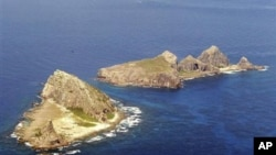 中国称钓鱼岛、日本称尖阁列岛的岛屿