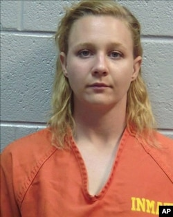 Reality Winner is shown in this June 2017 photo released by the Lincoln County (Ga.) Sheriff's Office.
