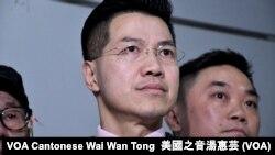 香港新同盟立法會議員范國威 (攝影: 美國之音湯惠芸)