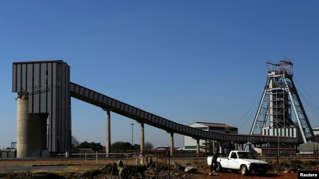 FILE - Doornkop Gold Mine, about 19 miles west of Johannesburg.