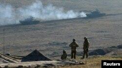 Учения на военной базе Вазиани, Грузия (архвиное фото)