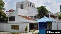မေလးရွားႏိုင္ငံ Kuala Lumpur ရွိ ျမန္မာသံရံုးျမင္ကြင္း။ (ဓာတ္ပံု - Myanmar Embassy in Kuala Lumpur, Malaysia - ဇူလိုင္ ၂၂၊ ၂၀၁၆)