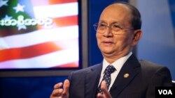 미국을 방문 중인 테인 세인 버마 대통령이 19일 VOA에서 인터뷰를 가졌다.