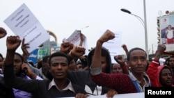 Hiriira mormii Oromoon Finfinneeti bahe, Hagayya 6, 2016