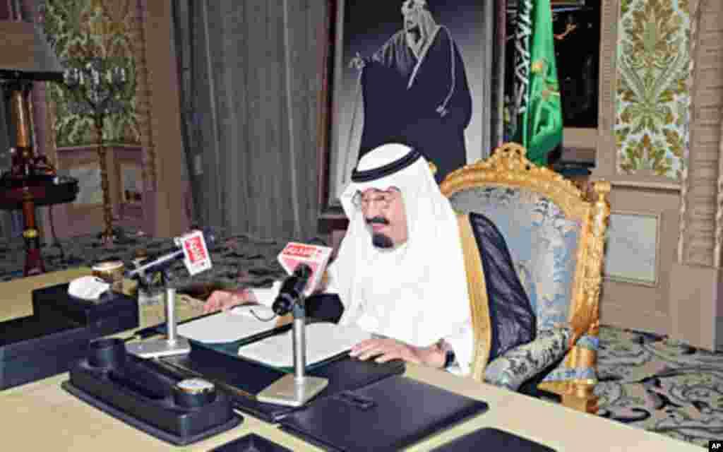 شاہ عبد اللہ 2005ء میں اپنے پیش رو شاہ فہد کے انتقال کے بعد ملک کے بادشاہ بنے تھے۔