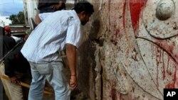 کشته شدن دو حمله کننده مظنون انتحاری در کراچی پاکستان