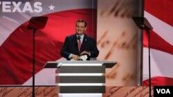 Thượng nghị sĩ Ted Cruz tại Đại hội toàn quốc Đảng Cộng Hoà, ngày 20 tháng 7 năm 2016.