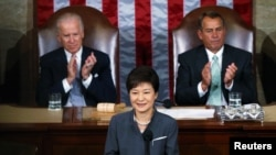 South Korean President Park Geun-hye Visits the United States