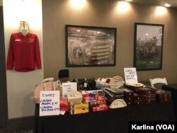 Bazaar melengkapi Muktamar IMSA 2019. (Foto: VOA/Karlina)