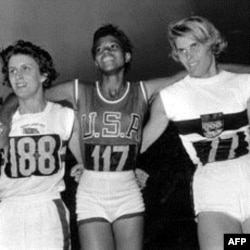 Wilma rudolph 1940 1994 the fastest woman in the world dorothy hyman of great britain wilma rudolph of the us and j heine of voltagebd Gallery
