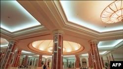 沙特阿拉伯的吉達的和平宮內部 (資料圖片)