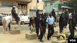 Angola - manifestações e polícia