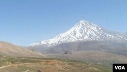 Gunung Damavand, Iran (Foto: dok).