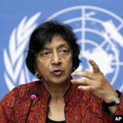 聯合國人權事務最高級官員納瓦尼特姆‧皮萊(資料照片)