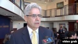 El embajador Jaime Aparicio, exrepresentante de Bolivia ante la OEA