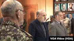 وزیر داخله افغانستان در اجلاس امروزی