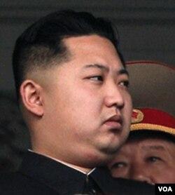 Kim-Jong-Un, resmi menggantikan ayahnya memimpin Korea Utara.