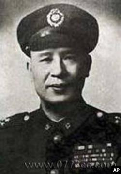 中华民国国军著名将领白崇禧(资料照片)