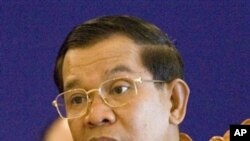 "Hun Sen criticized commercial fishing operators saying that they have ""abused"" local residents by preventing them from fishing for their own consumption."